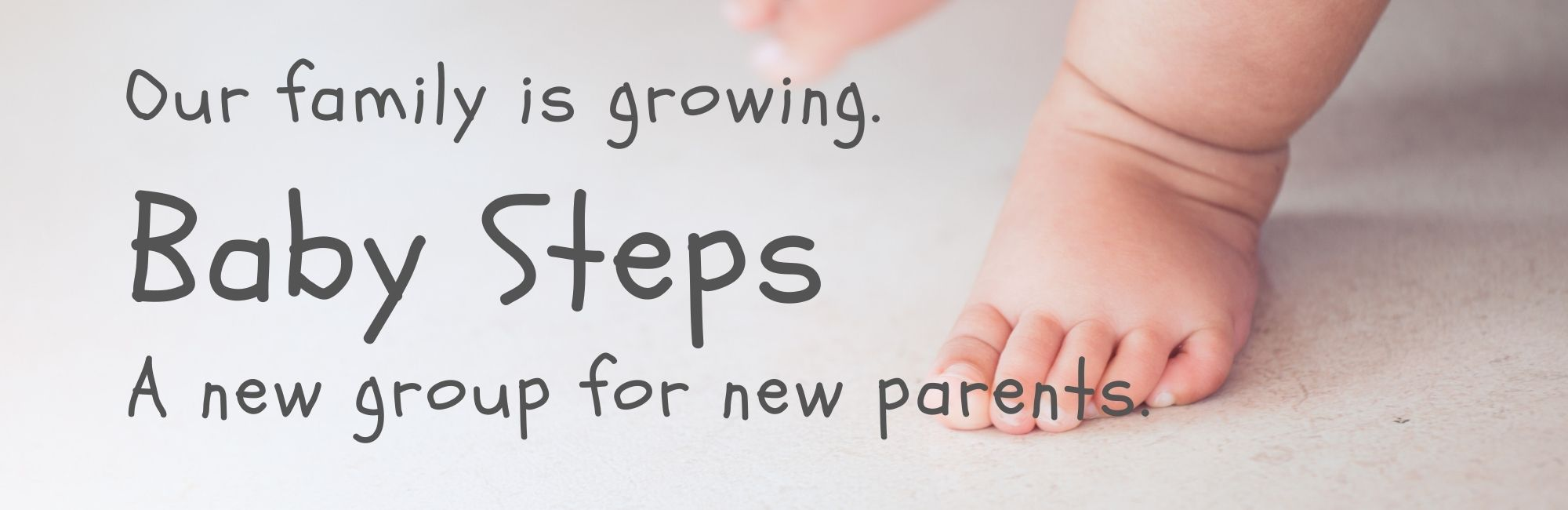 BABY STEPS banner